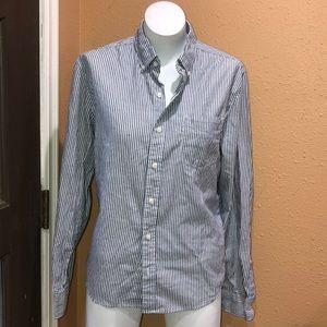 Men's levis striped shirt